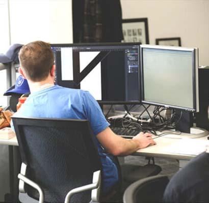 strategia web digitale team al lavoro